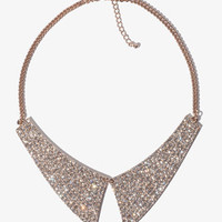 Rhinestoned Collar Necklace | FOREVER 21 - 1000049635