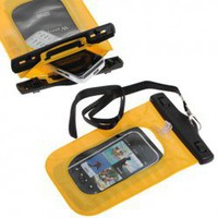 Waterproof Case for iPhone 4S, iPhone 4, iPhone 3G/3GS, iPod Touch, Android Smartphones, MP4 Players (Yellow) China Wholesale - Everbuying.com