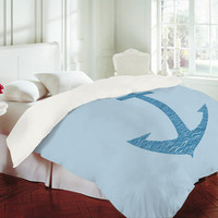 DENY Designs Home Accessories | Matt Leyen Anchors Awaves Duvet Cover