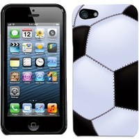 Amazon.com: Apple iPhone 5 Soccer Ball Cover: Cell Phones &amp; Accessories
