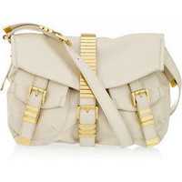 Michael Kors|Buckled leather shoulder bag