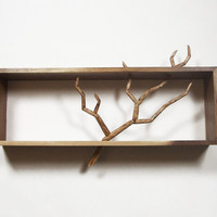 Carved Branch Cabinet  Handmade Sculpture & by TAudetDesigns