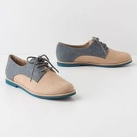 Tweed-Topped Oxfords - Anthropologie.com