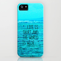 LIFE IS SHORT II  iPhone Case by Tara Yarte  | Society6