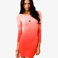 Ombré Bodycon Dress | FOREVER 21 - 2030187967