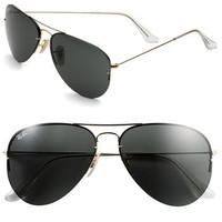 Ray-Ban 'Flip Out' Folding Metal Aviator Sunglasses | Nordstrom