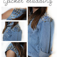 CUSTOM OPTION - Studding (Jackets)