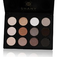 Amazon.com: SHANY Everyday Natural Look Eyeshadow Palette (12 Colors Eyeshadow Palette, Large Pan Size, Limited), 9 Ounce: Beauty