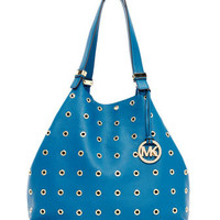 MICHAEL Michael Kors  Large Colgate Grommet Pebbled Leather Tote - Michael Kors