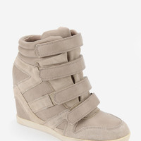 Urban Outfitters - BDG Quarter-Strap High-Top Wedge-Sneaker