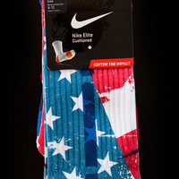 Thesockgame.com  Old Glory - Custom Nike Elite Socks