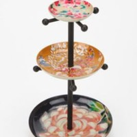 UrbanOutfitters.com > Mixed Enamel Plates Jewelry Stand
