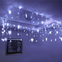 Fantastic AC110V 8Mx0.5M 192 Leds Light String For Home Decoration CIS-84053 (White)