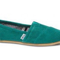 Green Cord Women&#x27;s Classics | TOMS.com