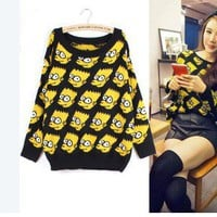 Simpson the Simpsons Knitted sweater FS26
