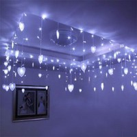 CIS-84053 Lovely Home Decoration White LED String Lamp with 8Mx0.5M 192 Leds - AC110V China Wholesale - Everbuying.com