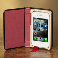 $44.99 NEW Little Black Book for iPhone4/4S with Hidden by PadandQuill