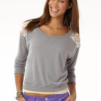 Megan Shoulder Yoke Long-Sleeve