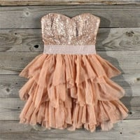 Ruffles &amp; Rust Party Dress, Sweet Wom,,en&#x27;s Country Clothing