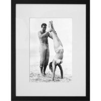Buy Getty Images Sean Connery Catches Ursula Andress Framed Print, 50 x 57cm online at JohnLewis.com - John Lewis