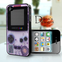 Gameboy  iPhone 4S and iPhone 4 Case Cover by DanazDesigns on Etsy