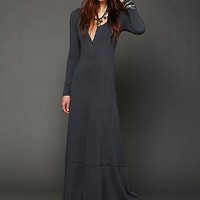Free People Miles of Henley Dress - Available in 3 Colors