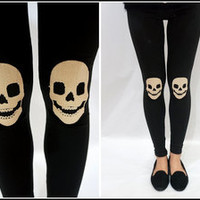 Sandysshop  Skull Leggings ON SALE