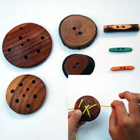 ReForm School: Wooden Button Set