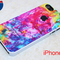 iPhone 5 case iPhone 5 cover iPhone 5 iPhone 5 hard plastic iPhone 5 rubber Watercolor Art