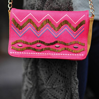 Heart Skips A Beat Satchel: Hot Pink | Hope's