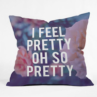 DENY Designs Home Accessories | Leah Flores So Pretty Throw Pillow