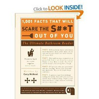1,001 Facts that Will Scare the S#*t Out of You: The Ultimate Bathroom Reader [Paperback]