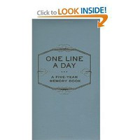 One Line a Day: A Five-Year Memory Book [Diary]