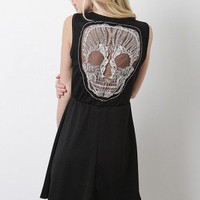 Erratic Skull Dress
