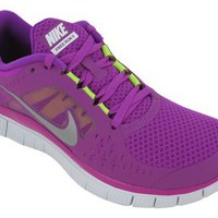 Nike Lady Free Run V3 Running Shoes - 6.5 - Purple