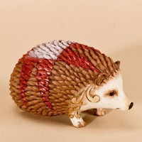 Jim Shore Heartwood Creek Mini Hedgehog Figurine, 1-3/4-Inch