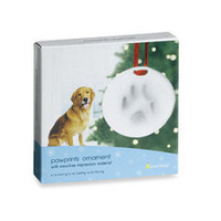 Pawprints Ornament - Bed Bath & Beyond