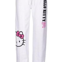Hello Kitty 76 Pant White
