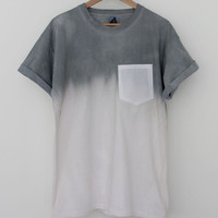 ANDCLOTHING  Night Sky Dip Dye Tee