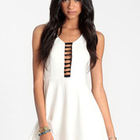 Mod Art Mesh Skater Dress - $42.00 : ThreadSence, Women's Indie & Bohemian Clothing, Dresses, & Accessories