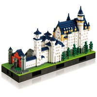 3D-Puzzle Schloss Neuschwanstein Deluxe Edition | Nanoblock Shop