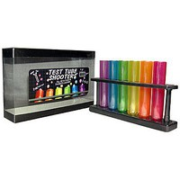 Test Tube Shooters Party Drinks Novelty Adult Gift Multicolor Science Themed