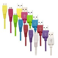 Amazon.com: 7in1 Combo Colorful 3Ft Micro USB Data Cable Charger for Samsung Galaxy i9300 i9100 i9220 i9000 S3 HTC One S / V / X / VL Phone Universal Mobile Phone MP3 MP4 F65: Computers & Accessories