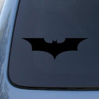 BATMAN BEGINS - Vinyl Decal Sticker #A1076 | Vinyl Color: Black : Amazon.com : Automotive