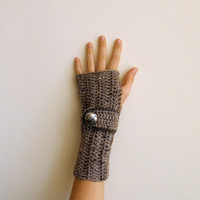 Fingerless Gloves Wrist Warmers Arm warmers Mittens by Accessorise