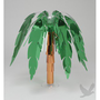 "Palm Tree Centerpieces - Foil Palm Tree 15"" (6 Count) [C26-3220 Foil 15inch Palm Tree] : Wholesale Wedding Supplies, Discount Wedding Favors, Party Favors, and Bulk Event Supplies"