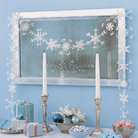 Ice-Crystal Garland - Martha Stewart Holiday & Seasonal Crafts