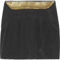 IRO Verity silk mini skirt - 65% Off Now at THE OUTNET