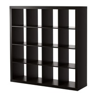 EXPEDIT Bookcase - black-brown - IKEA