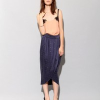 Studded silk tulip skirt [Fun3712] - $205 : Pixie Market, Fashion-Super-Market